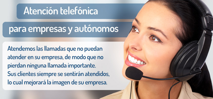 Call center para empresas y autónomos