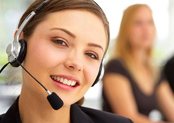 Operadores cualificados de un call center